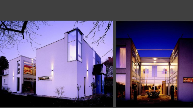 Neuwertige Architektenvilla